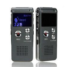 Voice Recorder 8GB Mini USB Digital Audio Voice Recorder 650Hr Diktierger Mp3.