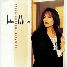 JULIE MILLER - He Walks Through Walls - CD (Christian, Country)