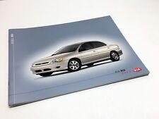 2002 Kia Rio Sedan Cinco Brochure