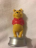 Replacement Piece DISNEY CHESS Winnie The Pooh  Cake Topper Silver Base Figure