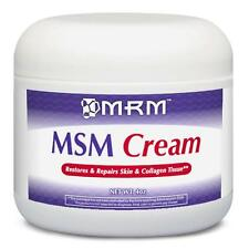 MRM - MSM CREAM - 4oz / 118ml - METHYLSULFONYLMETHANE - SKIN & COLLAGEN REPAIR