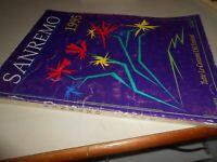 LIBRO: SANREMO 1995 - TUTTE LE CANZONI DEL FESTIVAL - CARISCH - BMG RICORDI