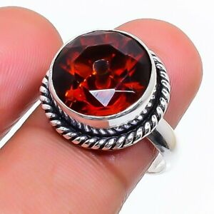 Mozambique Garnet Gemstone 925 Sterling Silver Jewelry Ring Size 5.5 p593