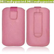 IPhone 5S Slim Hülle Tasche Etui Cover Schutz Rosa