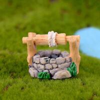AD_ GC- 1Pc Miniature Dollhouse Vintage Water Well Garden Bonsai Beautiful Decor