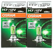 2pc Osram H7 Car Headlight Bulb 12V 55W Front light All Season 64210ALL