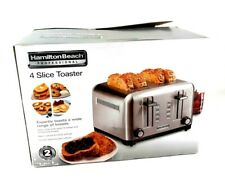 Hamilton Beach Professional 4 Slice Toaster with slide out crumb trays