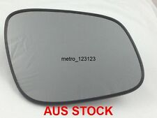 RIGHT DRIVER SIDE HOLDEN BARINA SPARK 2010 - 2016 MIRROR GLASS WITH BACK PLATE