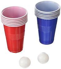 Nueva York Regalo Beer Pong Fiesta Navidad Celebración con 8 vasos y 2 juego de pelota