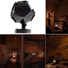 DIY Romantic Astro Star Projector Cosmos Light Night Sky Lamp + Power Adapter