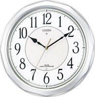CITIZEN Radio Waves Wall Clock Ne Murrina Sunny 4MY642-019 Japan w/ Tracking