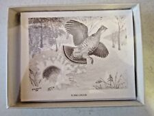 Flying Grouse Boxed Note Cards with 10 Cards 10 Envelopes per Box