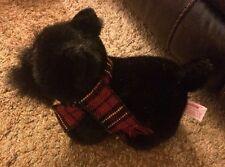 "Russ Scottish Terrier Black Puppy Named Shadow 10"" (See Description)"