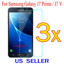 3x Clear Screen Protector Guard Cover Film For Samsung Galaxy J7 Prime / J7 V