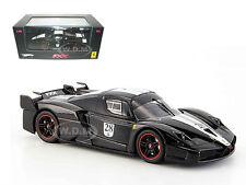 FERRARI ENZO FXX ELITE BLACK #28 LTD 1/43 DIECAST MODEL CAR BY HOTWHEELS N5608