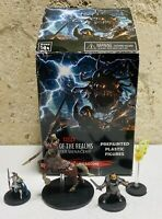 Dungeons Dragons Monster Menagerie Icons of the Realms 4 Miniature LOT D&D Wiz