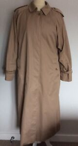 Burberry Ladies Beige Mac Size12XL (Pilling In Parts As Shown)