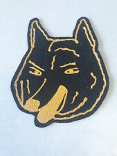 New listing Black Lone Wolf vintage patch