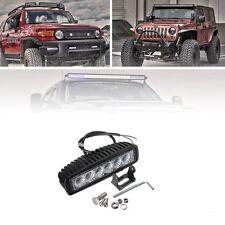 SUV Offroad Pickup Headlight 18W 6 Cree-Led Spot Work Fog Driving Light Bar Lamp