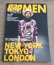 Gap Press Men Magazine 39 2015 Spring Summer Mens Fashion New York Tokyo London