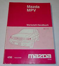 Werkstatthandbuch Grundhandbuch Mazda MPV 1996 - 1999, Stand 04/1996