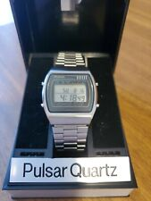 Pulsar Quartz Lcd Watch Nuovo Y770-5129 (seiko?casio?)