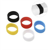 3 Pcs Tennis Racket Handle's Silicone Ring Tennis Racket Grip Overgrip IY