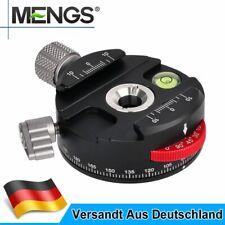 MENGS PAN-60H Kamera Stativ Kugelkopf Klemme 360° Panorama Rotating Arca-Swiss
