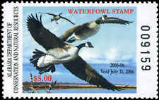 ALABAMA #27 2005 STATE DUCK CANADA GEESE by Eddie Leroy