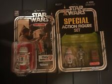 Star Wars Lot 40th Anniversary R5-D4 RARE With Target Exclusive Droid Pack
