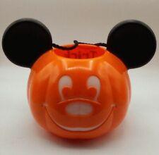Disney Mickey Mouse Light up Pumpkin Trick or Treat Bucket Multi colors