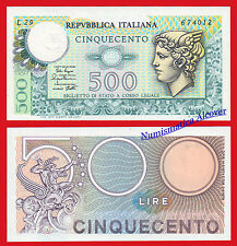 ITALIA ITALY 500 Lire liras 1979 Mercurio Pick 94 SC /  UNC