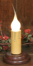 Red Base Electric 2 Inch Friendship  Window Light Switch & Candle-Lite Bulb