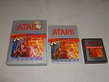 BOXED ATARI 2600 VIDEO GAME RAIDERS OF THE LOST ARK COMPLETE W BOX & MANUAL CIB
