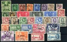 Somaliland Selection of 31 KGVI Stamps mainly Fine Used