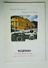 Brochure VOIGTLÄNDER   BESSA-R & BESSA-L