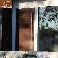 "Pull Push 70"" Handles,Entrance Entry Front Door,Ladder, Interior/Exterior,Mirror"