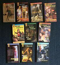 10 Hard Case Crime novels lot PB books pulp noir Erle Stanley Gardner