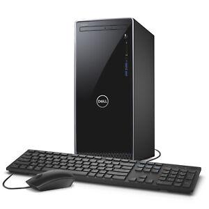 Dell Inspiron i3670 Core i7-8700 Intel UHD 630 Premium Business Tower Desktop