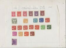 Czechoslovakia Stamps Lot 130
