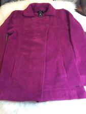 NWT! Womans Avalanche Thermalation Mary Jane Fuchsia Fleece Jacket Coat Small