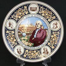 Josiah Wedgwood Man of Science 1730-1795 10 Inch Decorator Plate