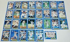 Los Angeles Dodgers Police D.A.R.E. 30 Baseball Card Set vintage 1993 mint HOF