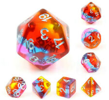 Golden Time Dice ~ 7 piece Polyhedral dice set ~ NEW RPG DnD Magic - HDTL-20