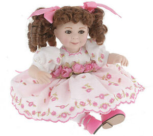 COA #1125 MARIE OSMOND EMMALINE TODDLER PORCELAIN DOLL NEW AND NRFB