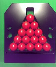 ROSETTA PRO TOURNAMENT STYLE REFEREES SNOOKER TRIANGLE TABLE BALL RACK