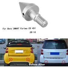 Car Sharp Silver Bumper Spike Guard Protector For Benz SMART Fortwo ED 451 08-14