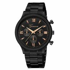 Men's Rose Gold Watches Luxury Full Steel Sports Round Male Digital Wristwatches
