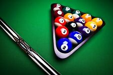"2"" Billiard Balls Pool Balls Set Postage Sports Home Leisure New Free AU"