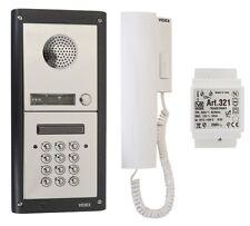 Videx 1 Way Audio Intercom Kit W/ Keypad Entry Panel, Door Release & Handset